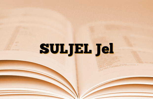SULJEL Jel
