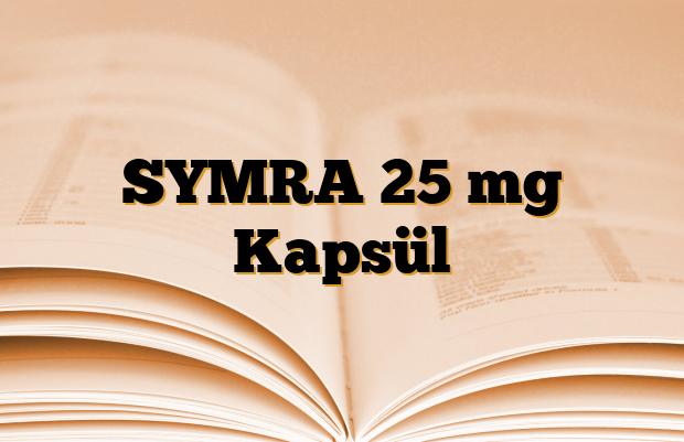 SYMRA 25 mg Kapsül