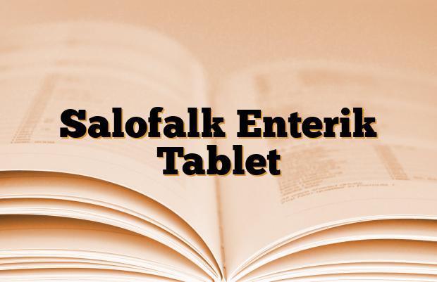 Salofalk Enterik Tablet