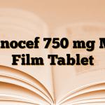 Sanocef 750 mg MR Film Tablet
