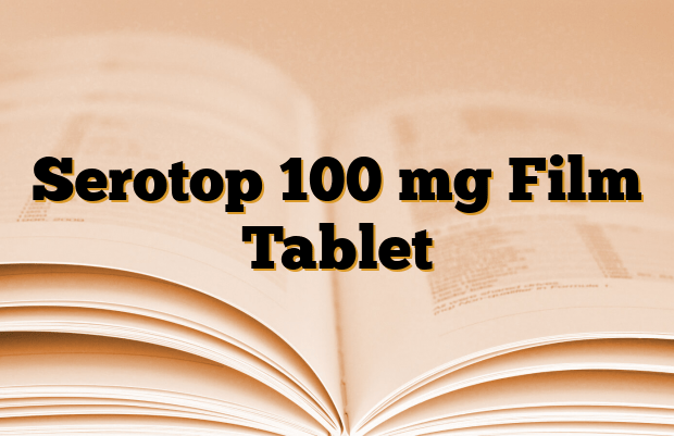 Serotop 100 mg Film Tablet