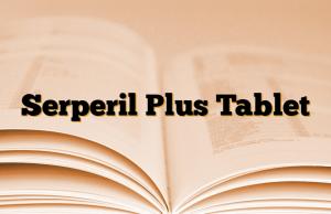 Serperil Plus Tablet
