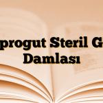 Siprogut Steril Göz Damlası