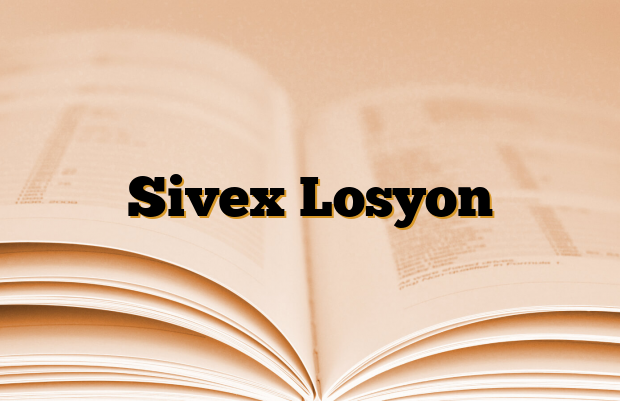 Sivex Losyon