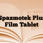 Spazmotek Plus Film Tablet