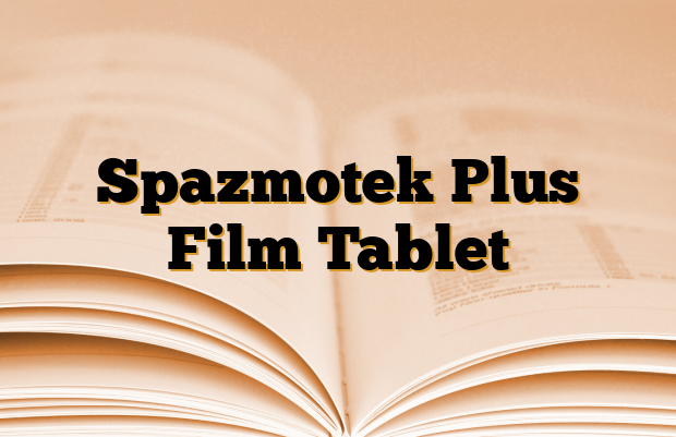 Spazmotek Plus Film Tablet