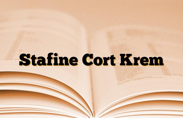 Stafine Cort Krem