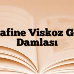 Stafine Viskoz Göz Damlası