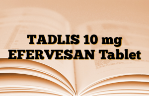 TADLIS 10 mg EFERVESAN Tablet