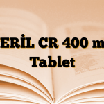 TERİL CR 400 mg Tablet