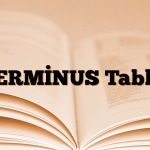 TERMİNUS Tablet