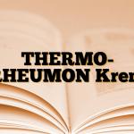 THERMO- RHEUMON Krem