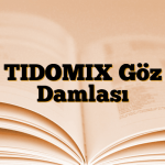TIDOMIX Göz Damlası