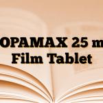 TOPAMAX 25 mg Film Tablet