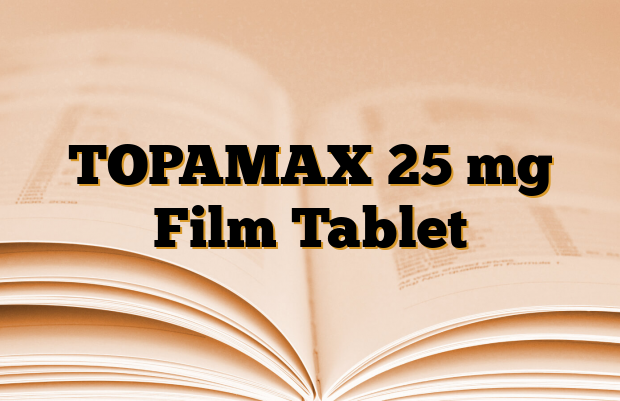 TOPAMAX 25 mg Film Tablet