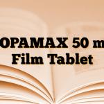 TOPAMAX 50 mg Film Tablet