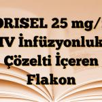 TORISEL 25 mg/ml IV İnfüzyonluk Çözelti İçeren Flakon
