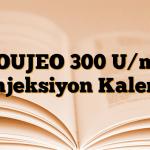 TOUJEO 300 U/mL Enjeksiyon Kalemi