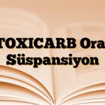 TOXICARB Oral Süspansiyon