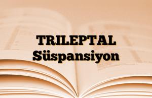 TRILEPTAL Süspansiyon