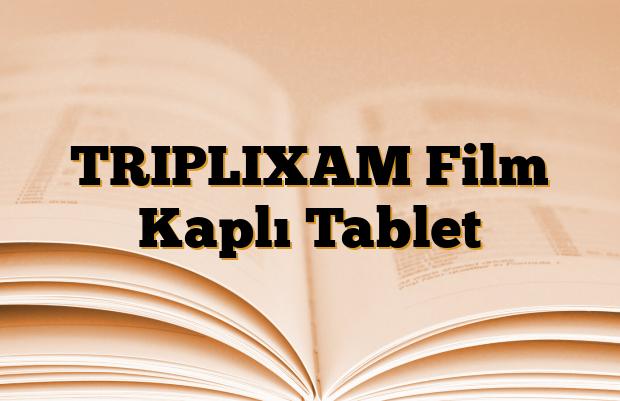 TRIPLIXAM Film Kaplı Tablet