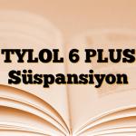 TYLOL 6 PLUS Süspansiyon