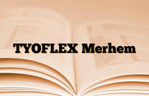 TYOFLEX Merhem