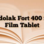 Tadolak Fort 400 mg Film Tablet
