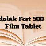 Tadolak Fort 500 mg Film Tablet