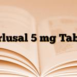 Tarlusal 5 mg Tablet