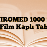 UVIROMED 1000 mg 21 Film Kaplı Tablet