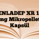 VENLADEP XR 150 mg Mikropellet Kapsül