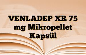 VENLADEP XR 75 mg Mikropellet Kapsül