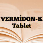 VERMİDON-K Tablet