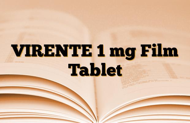 VIRENTE 1 mg Film Tablet