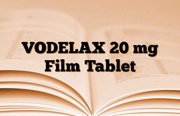 VODELAX 20 mg Film Tablet