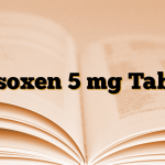 Vasoxen 5 mg Tablet