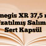Venegis XR 37,5 mg Uzatılmış Salımlı Sert Kapsül