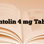 Ventolin 4 mg Tablet
