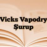 Vicks Vapodry Şurup