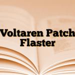 Voltaren Patch Flaster