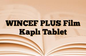 WINCEF PLUS Film Kaplı Tablet