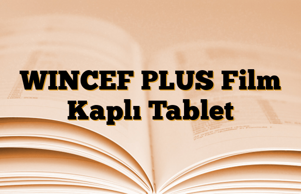 WINCEF PLUS Film Kaplı Tablet