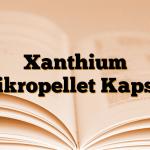 Xanthium Mikropellet Kapsül