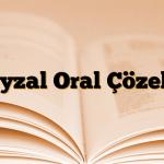 Xyzal Oral Çözelti
