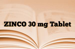 ZINCO 30 mg Tablet