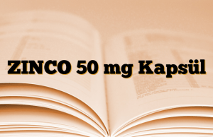 ZINCO 50 mg Kapsül