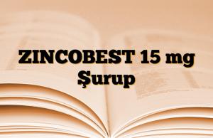 ZINCOBEST 15 mg Şurup