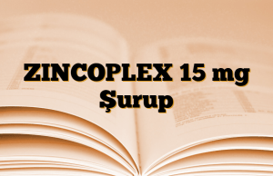 ZINCOPLEX 15 mg Şurup