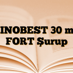 ZINOBEST 30 mg FORT Şurup